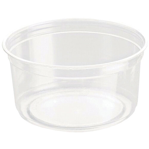 Caterpack Biodegradable rPET DeliGourmet Food Container 12oz Pack of 50  RY10580 / DM12R