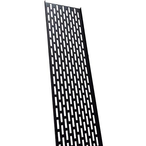 22U Black Cable Tray 150mm Wide
