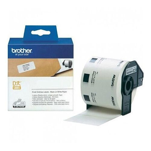Brother QL Small Address Label 29x62mm Roll of 800