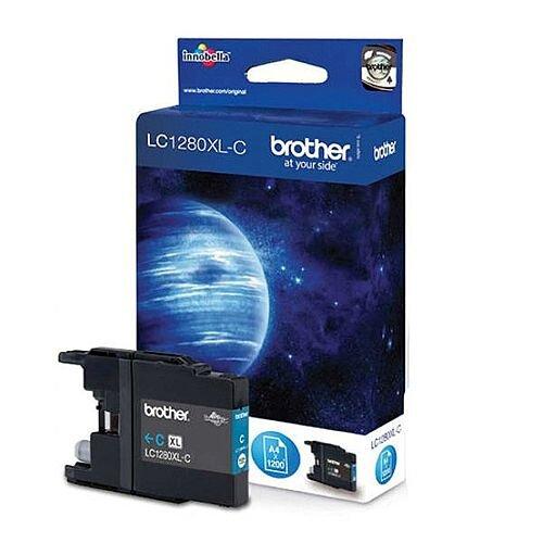 Brother LC1280XLC Cyan High Yield Ink Cartridge