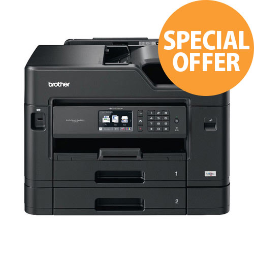 Brother MFC-J5730DW A3 Multifunction All in One Inkjet Printer Colour Copier/Printer/Scanner