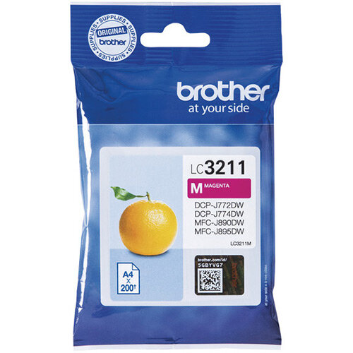 Brother Ink Cartridge Magenta LC3211M