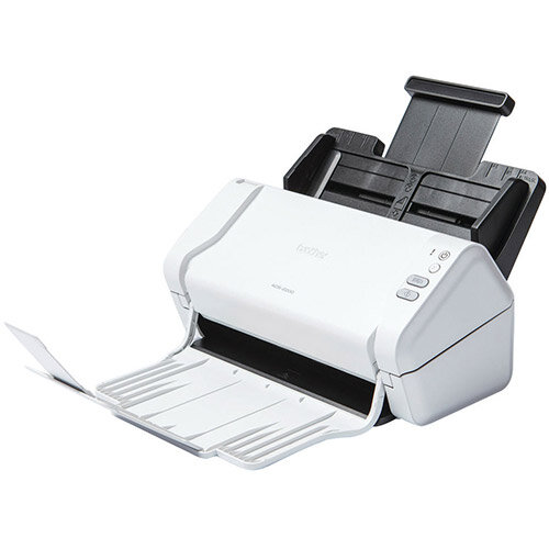 Brother ADS-2200 Desktop A4 Document Scanner, Scan Speeds up To 35ppm, Colour, Duplexing, USB, Windows ; Mac and Linux Compatible