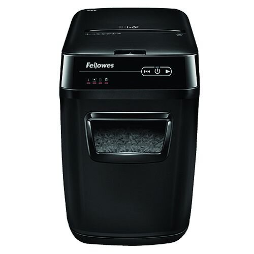 Fellowes AutoMax-200C Shredder Cross Cut Auto Feed
