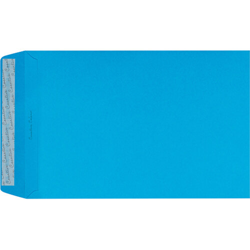 C4 Pocket Envelope Peel and Seal 120gsm Cocktail Blue Pack of 250 409P