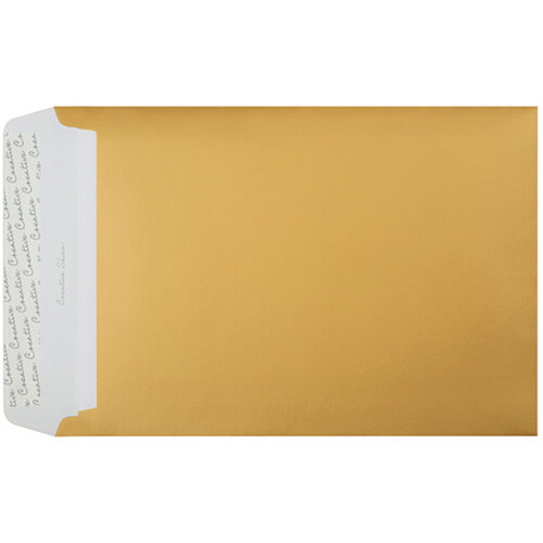 C4 Pocket Envelope Peel and Seal 120gsm Banana Yellow Pack of 250 403P