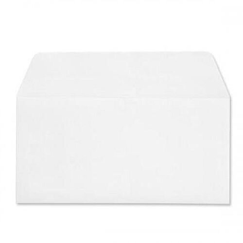 Croxley Script Envelopes Wallet Peal and Seal Pure White DL 100gsm Pack 500