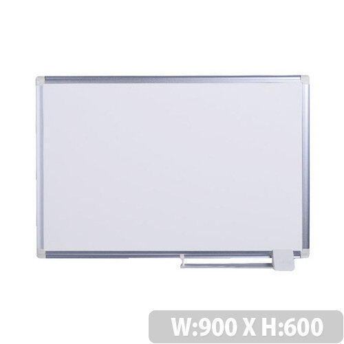 Bi-Office New Generation Drywipe Board 900 x 600mm Aluminium Frame MA0312830