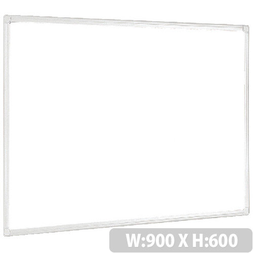 Bi-Office Anti-Microbial Maya Whiteboard 900 x 600mm BMA0307226