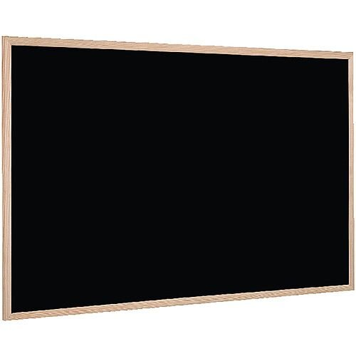 Bi-Office Chalk Board 600 x 400mm - Lightweight, wall mounted chalk board - Sturdy wood frame - Ideal for bars, restaurants, classrooms and more