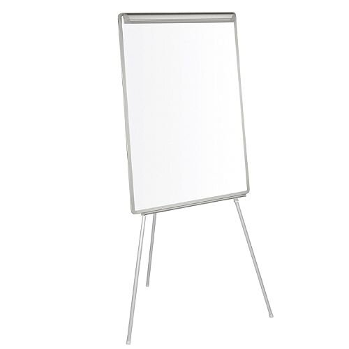 Bi-Office Non-Magnetic White A1 Dry Wipe Easy Flipchart Easel EA4600046