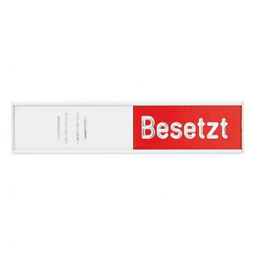 Franken Manual Adjustable Occupancy Sign German 152 x 37.4mm BS0119