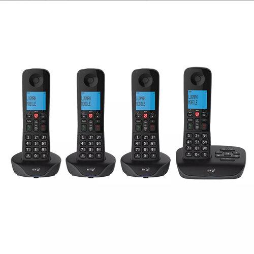 BT Essential DECT TAM Phone Quad 90660