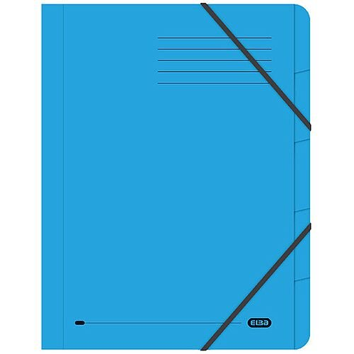 Elba Strongline 5 Part Blue File 100090166 Pack of 5