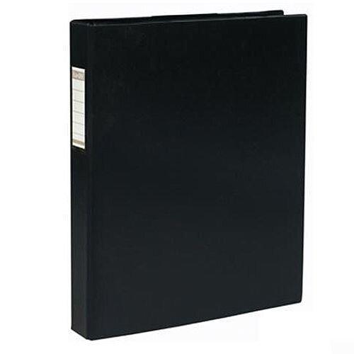 Elba Vision A3 Portrait Black 30mm 4 D-Ring Binder 100080864