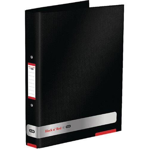 Black n Red 25mm Ring Binder Pack of 2 BX810413