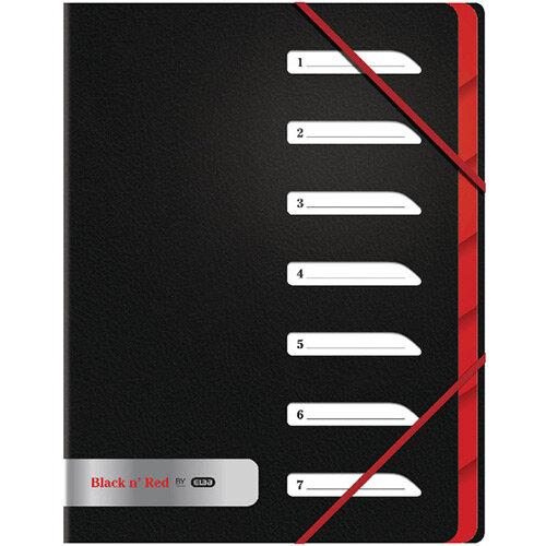 Black n Red 7 Part Sorter File Pack of 2 BX810415