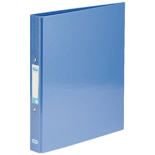ELBA Classy Ringbinder A4 Met Blue Pack of 3 BX810420