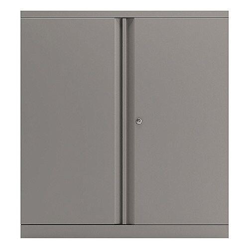 Bisley Goose Grey 1016mm 2 Door Cupboard BY74763