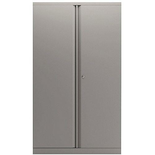Bisley Goose Grey 1806mm 2 Door Cupboard BY74766