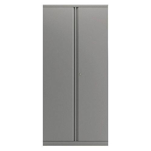 Bisley Goose Grey 1968mm 2 Door Cupboard BY74769