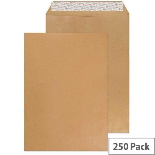 Envelope C4 80gsm Manilla Self-Seal (Pack of 250)
