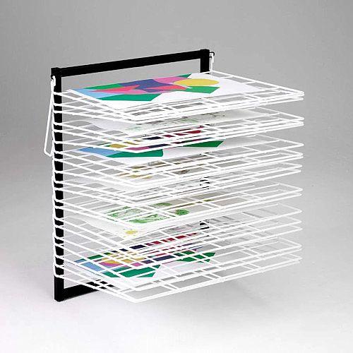 20 Shelf Wall Mounted Drying Rack