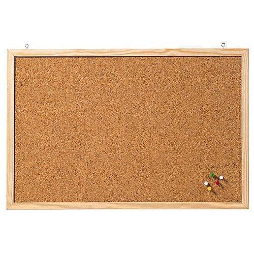 Franken Cork Board Wooden Frame 800 x 600mm CC-KT6080E