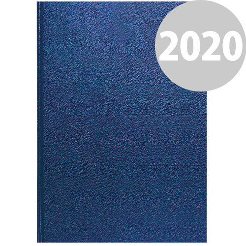 Collins A4 Desk Diary Week to View 2020 Blue 40