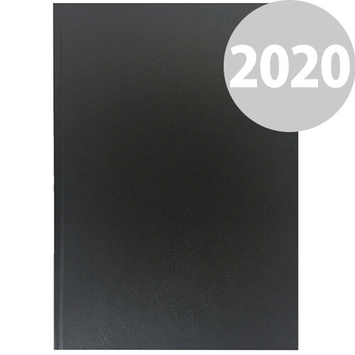 Collins A4 Desk Diary Day Per Page 2020 Black 44