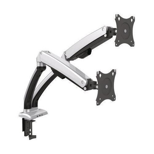 Contour Ergonomics Double Monitor Arm Black CE04632