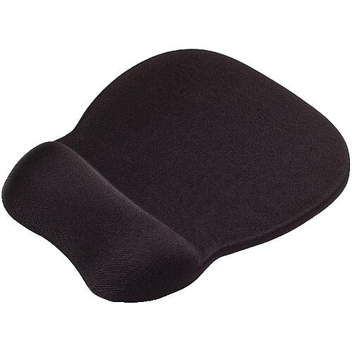 Contour Ergonomics Memory Foam Mouse Pad Wrist Rest Black CE77698