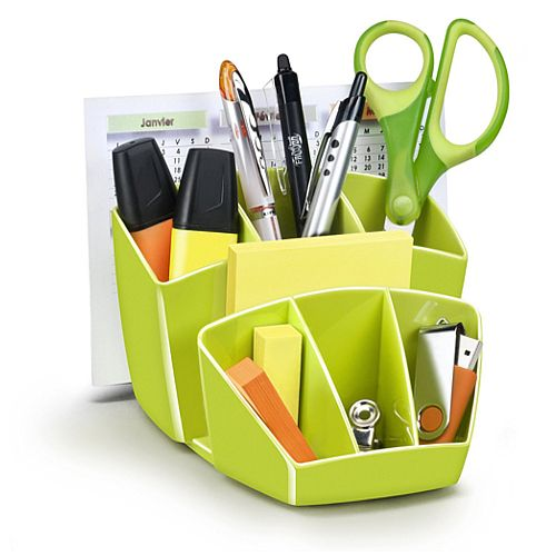 Ceppro Gloss Desk Tidy Green 580G Green