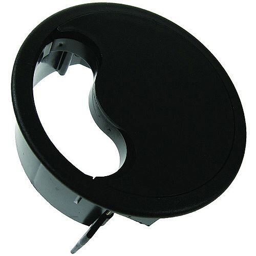 Floor Grommet Black Cut-Out: 127mm Dia: 140mm