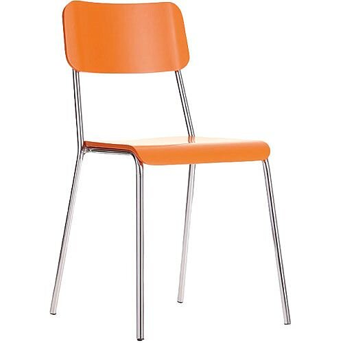 Reef Cafe Bistro Chair - Orange