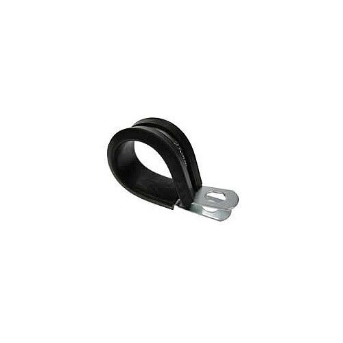 50mm P-Clip for Conduit Cable Tidy Tubes with Rubber Insert
