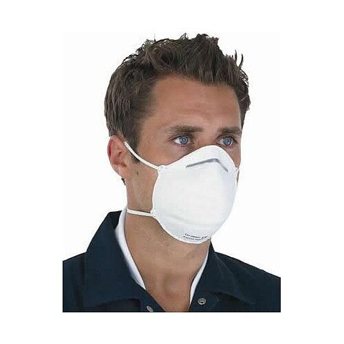 FFP1 Respirators Preformed Disposable Mask Pack of 20