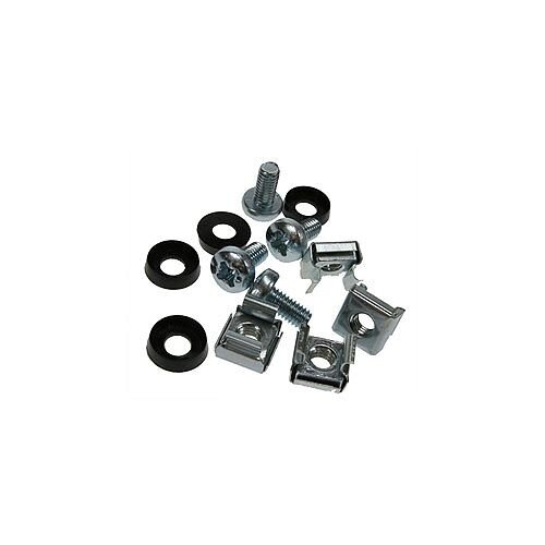 Cage Nut Set with Silver Screws Bag of 50