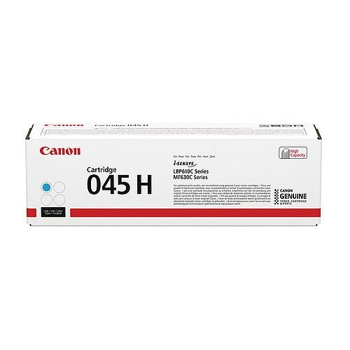 Canon 045 Laser Printer Toner Cyan HY 1245C002