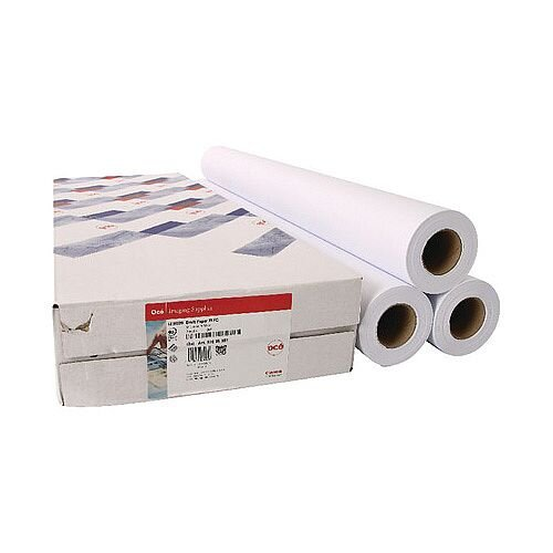 Canon 841mmx50m Uncoated Draft Inkjet Plotter Paper (3 Pack)