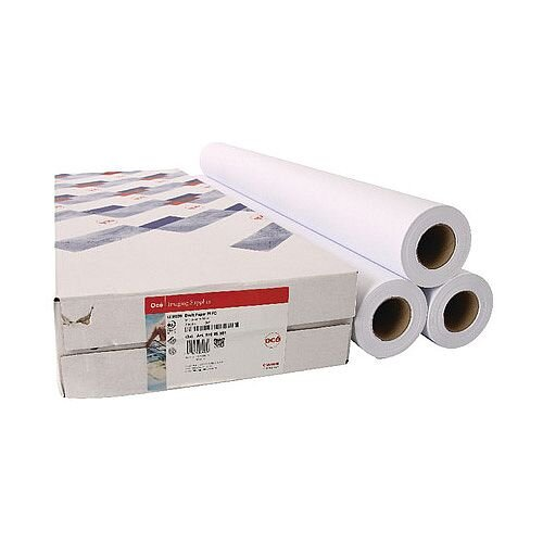 Canon 610mmx50m Uncoated Draft Inkjet Plotter Paper (3 Pack)