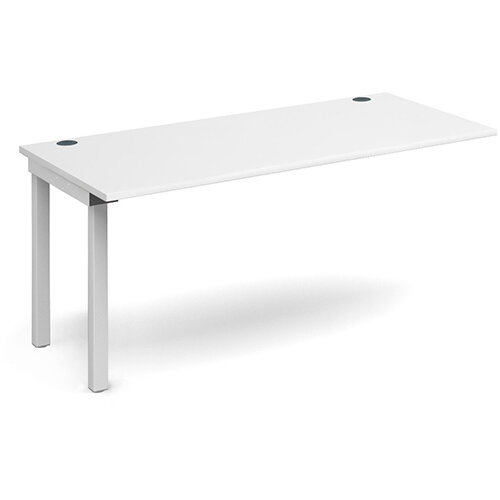 Connex add on unit single 1600mm x 800mm - white frame, white top