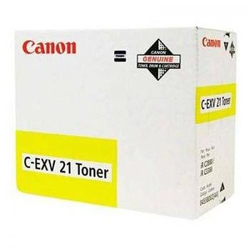 Canon C-EXV21 Yellow Toner Cartridge 0454B002
