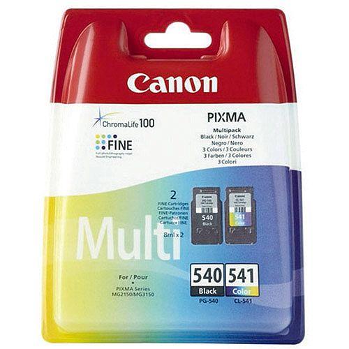 Canon PG-540XL/CL-541XL Inkjet Cartridges Twin Pack 5222B013
