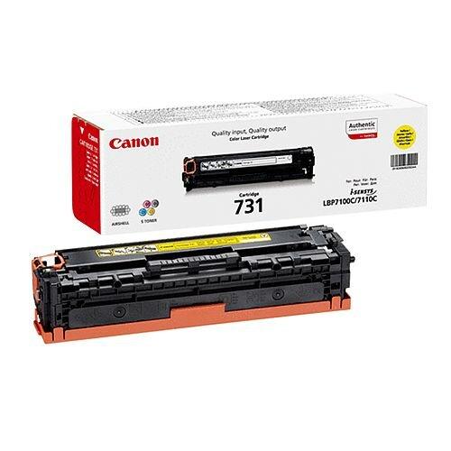 Canon 731Y Yellow Toner Cartridge 6269B002