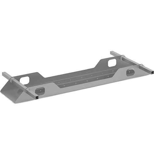 Connex double cable tray 1400mm - silver