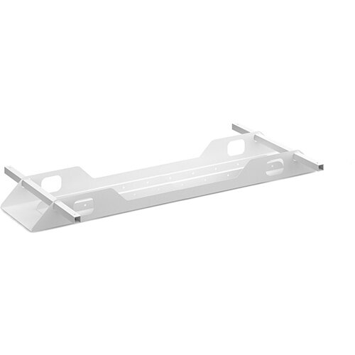 Connex double cable tray 1400mm - white