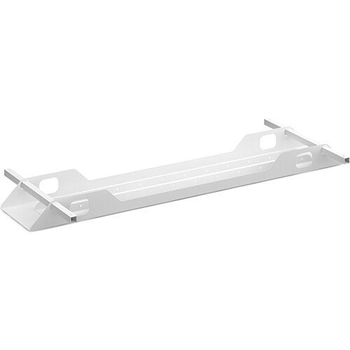Connex double cable tray 1600mm - white
