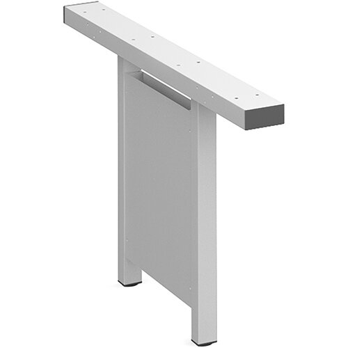 Connex vertical cable riser 1200mm - white