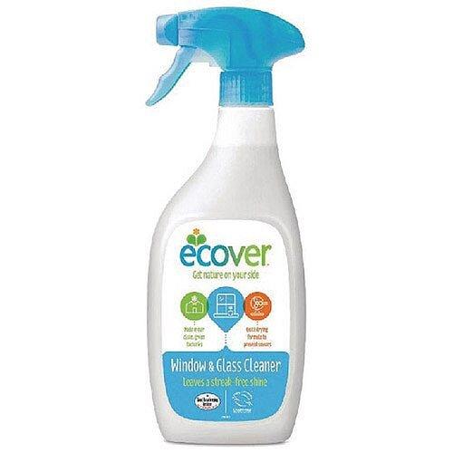 Ecover Window And Glass Spray 500ml